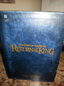 3 DVD Set Collector's Edition Lord Of The Rings