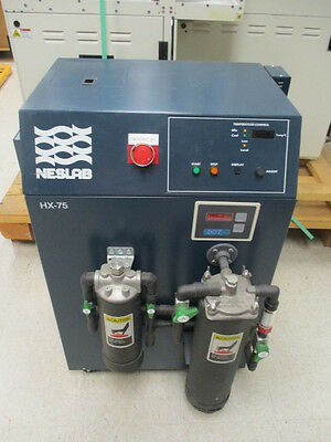 Neslab HX-75A Chiller, LAM 778-250779-00, TU-1 Pump, Resistivity Monitor, 410197