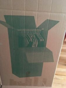 4 STORAGE & MOVING WARDROBE BOXES TO SELL