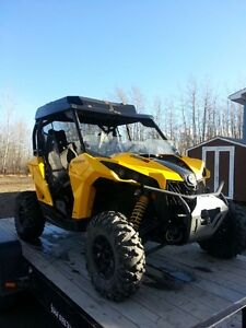 REDUCED!! 2013 Maverick 1000 with trailer