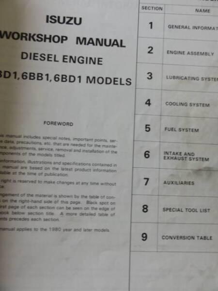 Terrific Isuzu 4Bd1 6Bb1 6Bd1 Diesel Engine Factory Workshop Manual Other Wiring Digital Resources Antuskbiperorg