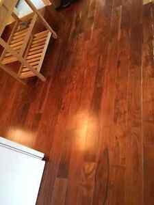Engineered Hardwood Flooring: Easy install & almost Free