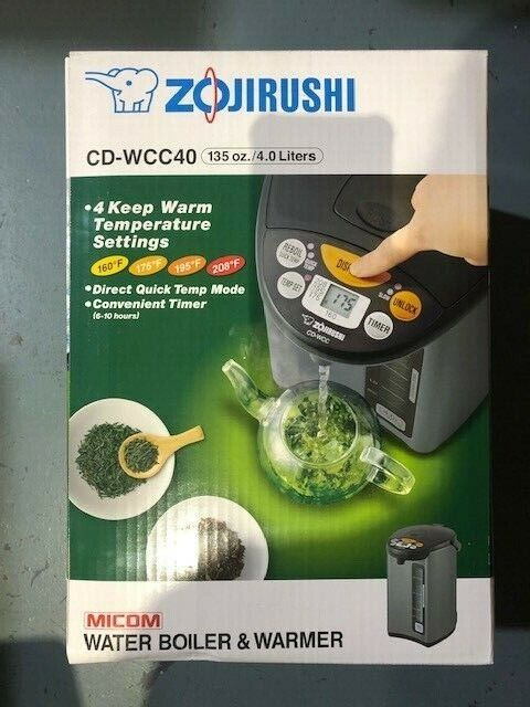 cd wcc40 micom water boiler and warmer