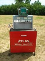 Vintage Atlas Motor Analyzer With Osciloscope And Manuals