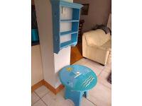 Kids Furniture - Table & Shelf Unit