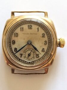 Rolex Oyster circa 1930's ( not working ) Essendon Moonee Valley Preview