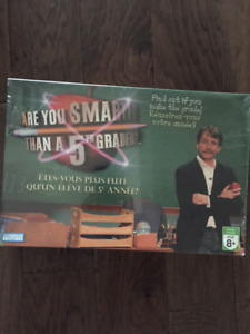 Never Opened Game -Are You Smarter than a 5th Grader?
