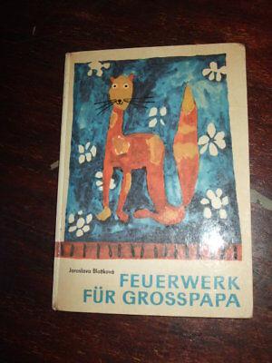 Feuerwerk für Großpapa, Blazkova, 1966, CSSR/DDR-Kinderbuch