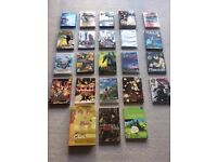 Anime / Manga / Studio Ghibli / Halo - HUGE LOT! DVDs, Blu-Ray,Books- Cosplay Bleach Naruto Murakami