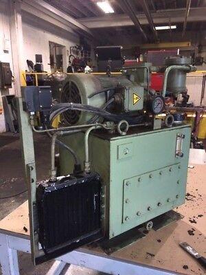 Nachi 3 HP Hydraulic Unit, Nachi Variable Vane Pump, VDR-1B-1A3-1146A w/ Cooler