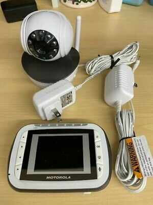 Motorola Baby Monitor & Camera MBP41BU - Clean