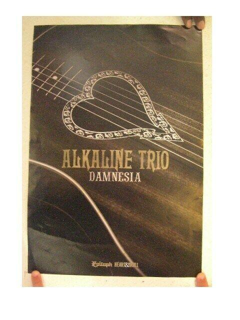 Alkaline Trio Poster  Damnesia The