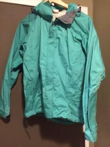 MEC women's wind/rain shell jacket