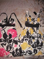 Small and medium tops and dresses