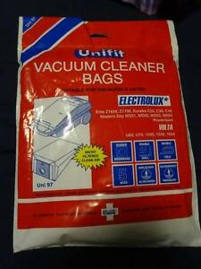 ONE PACK UNIFIT 97 microfiltered VACUUM CLEANER BAGS Manly West Brisbane South East Preview