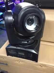 MOVING HEAD GOBO * DMX * AUTO * SOUND ACTIVE * SEULEMENT 150$ ! FAITE VITE ! NEUF !!!
