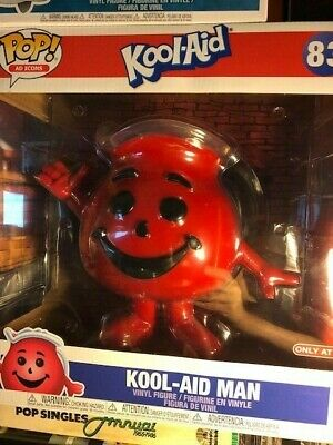 "FUNKO POP AD ICONS - NIB #83 KOOL AID MAN Target Exclusive 10"" Inch MINT Awesome"