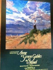 SIGNED ANNE OF GREEN GABLES POSTER  ***NEW***
