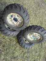 Camo! Tires n rims polaris