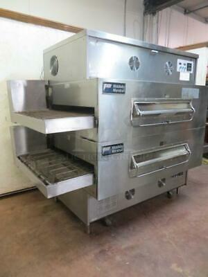 Middleby Marshall Ps360wb70 Doublestack Pizza Oven 40 Conveyor Belt - Free Ship