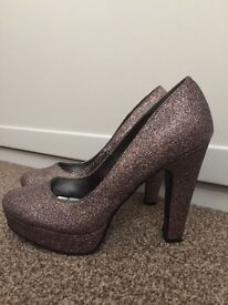 Glitter Heels - Ladies Size 6