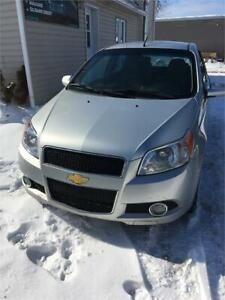 2011 CHEV AVEO EXTRA CLEAN DRIVES VERY GOOD 1 YEAR WARRANTY