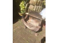 Victorian fire basket