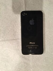 iPhone 4 8 GB Black