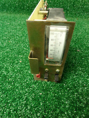 Ge Mastr Ii Master Vhf Uhf Radio Repeater Meter Card 19d417752p1 B10