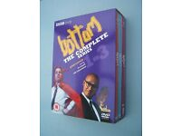 DVD Box Set Bottom Complete Series 1 to 3 Rick Mayall, Ade Edmondson