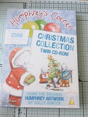 Humphrey's Corner Christmas Collection Twin CD-Rom - Never Used