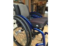 Quickie Helium, Lightweight Wheelchair, perfect for Junior or small adult. + Extra Wheels