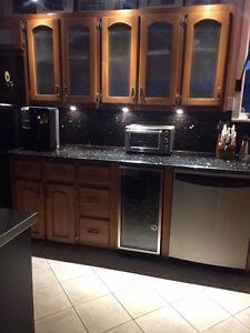 GE Profile stainless steel dishwasher
