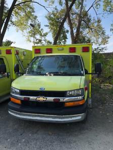 ambulance 2013 gmc 3500 diesel