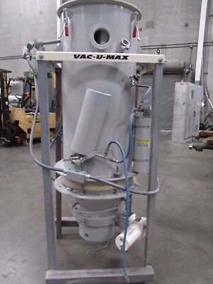 Vac-u-max Dust Collector Model Unknown With 4 Pulsonic Bin Activators