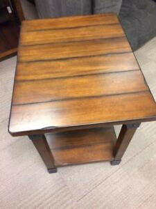 END TABLES $50.00 + TAXES