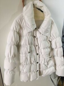 Women's White Ski/Winter DKNY  Jacket. . Size M