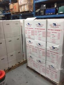 Technical Adhesive Low melt case and carton adhesive!!! 3 skids