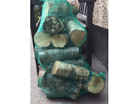 25KG Hardwood Seasoned Logs £20 - Multiple Bags & Delivery Available