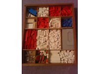 VINTAGE 1960s LEGO SET in Original WOODEN BOX