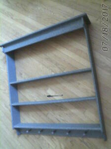 large vintage COUNTRY KITCHEN DISPLAY SHELVING UNIT