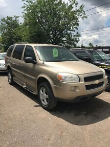 2005  HANDICAP ACCESSIBLE CHEV UPLANDER LT VAN $5900 CERTIFIED