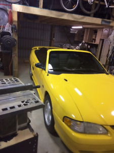 1995 Ford Mustang GT Convertible(trade seadoo or truck)