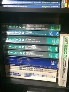 ford , haynes , chilton , total car ,and clymer service manuals