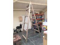 tressles - wooden x 2