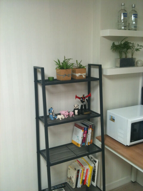 Ikea lerberg  Super Ikea Lerberg black shelving storage unit, metal, 5 shelf ...