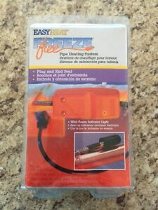 EasyHeat Freeze Free Pipe Heating System (NEW)