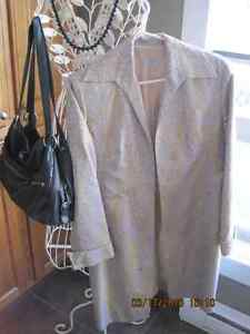 JAX Ladies Summer Jacket, Silk Blend, Lined, Made in Canada