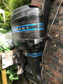 Mercury (500) 50hp - x3 Outboards Breaking for Spares
