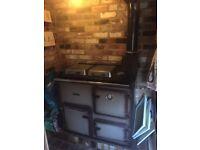 Rayburn Nouvelle 368k range central heating cooker